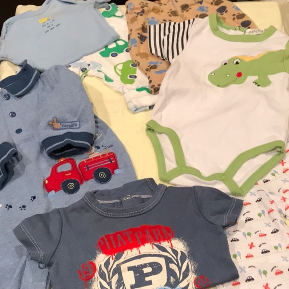 c6f2be40392d7 Carter's Matching Sets | 8 Pc Bundle Pants Shirts Onesies Outfits ...